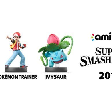 Super Smash Bros Ultimate amiibo squirtle ivysaur pokemon trainer