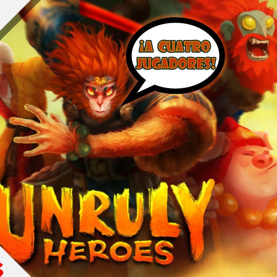 Unruly Heroes gameplay Switch 4 jugadores