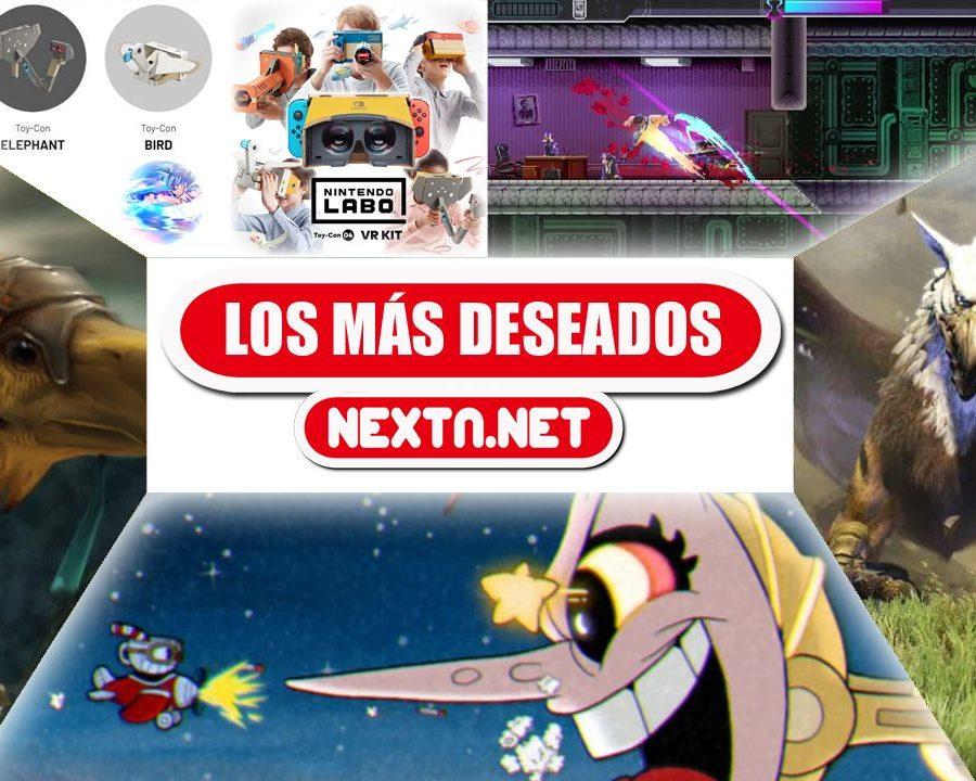 Los más deseados de NextN Abril 2019 Nintendo Switch Cuphead Final Fantasy XII