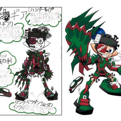 Splatoon 2 Mecha Gear CoroCoro