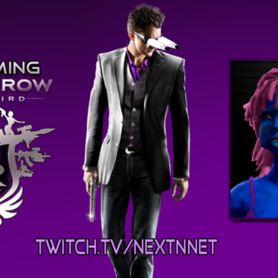 Saints Row The Third Switch Streaming gameplay