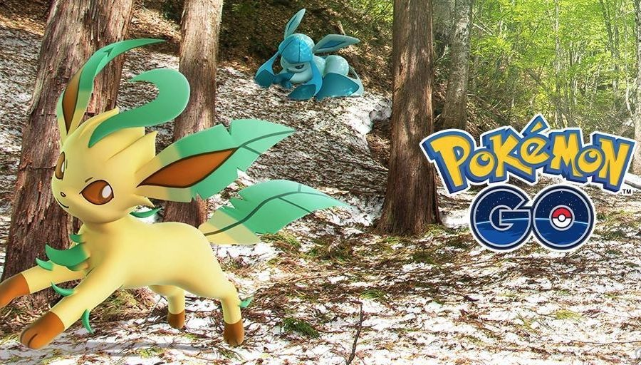 Leafeon Glaceon Pokémon GO