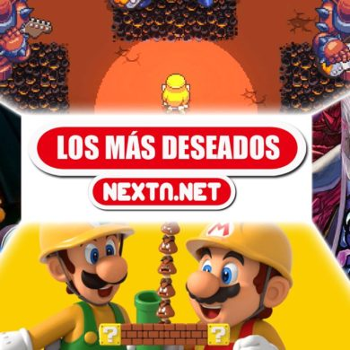 Los más deseados de NextN junio 2019 Nintendo Switch Nintendo 3DS Super Mario Maker 2 Cadence of Hyrule Bloodstained Crash Team Racing Nitro-Fueled