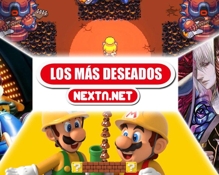 Los más deseados de NextN junio 2019 Nintendo Switch Nintendo 3DS Super Mario Maker 2 Cadence of Hyrule Bloodstained Crash Team Racing Nitro-Fueled