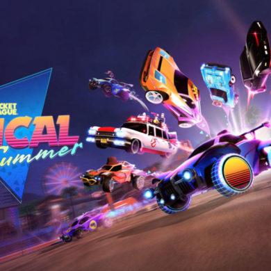 Rocket League Radical Summer Ecto-1 Cazafantasmas