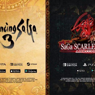 Romancing SaGa 3 SaGa SCARLET GRACE AMBITIONS Occidente Square Enix E3 2019 Nintendo Switch