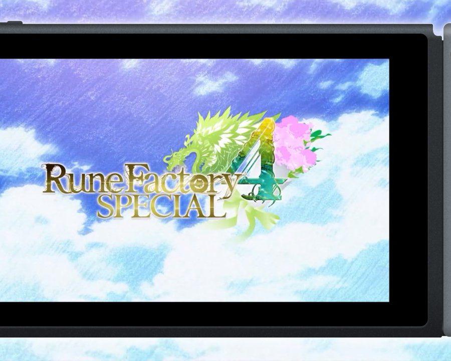 Rune Factory 4 Special Tráiler E3 2019 Nintendo Switch