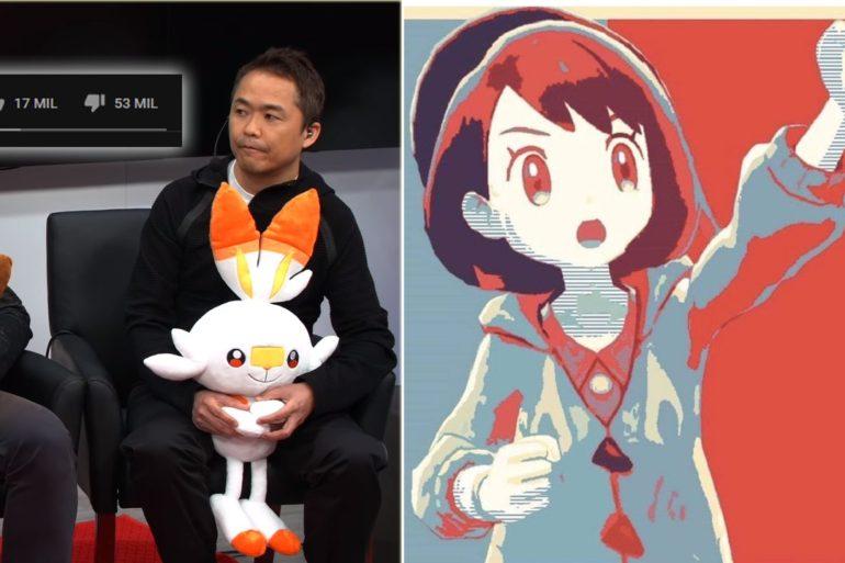 Pokémon Espada y Escudo Nintendo Treehouse E3 2019 Récord 50000 Dislikes Nintendo Switch