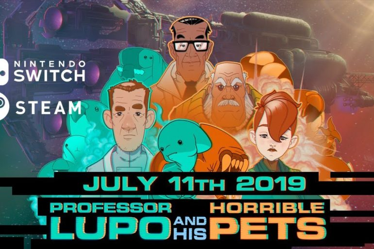 Professor Lupo and his Horrible Pets en Switch y Steam
