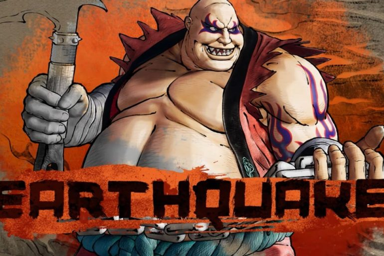 Samurai Shodown Earthquake