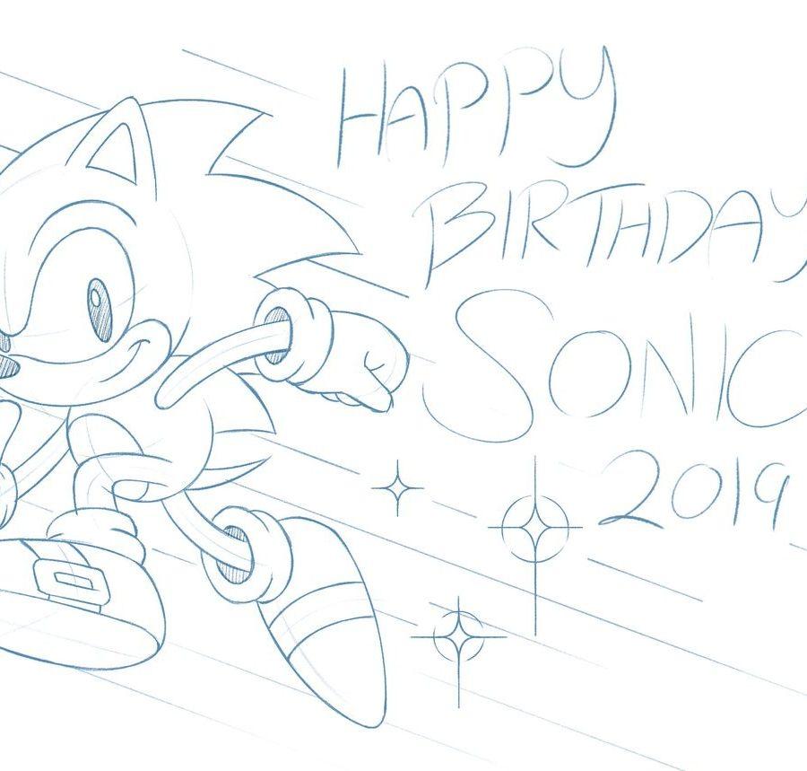 Sonic Cumpleaños 28 Años