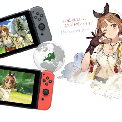 Atelier Ryza The Queen of Eternal Darkness and the Secret Hideout Nintendo Switch Lanzamiento Occidente Europa