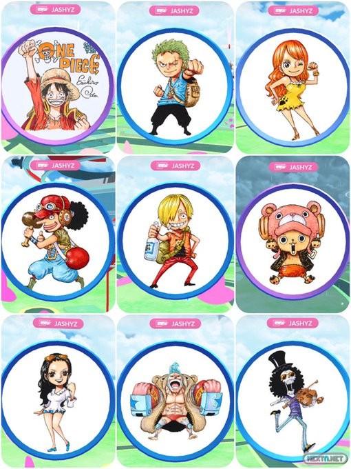 8a72d76f Revelados los diseños de las Poképaradas de One Piece en Pokémon GO