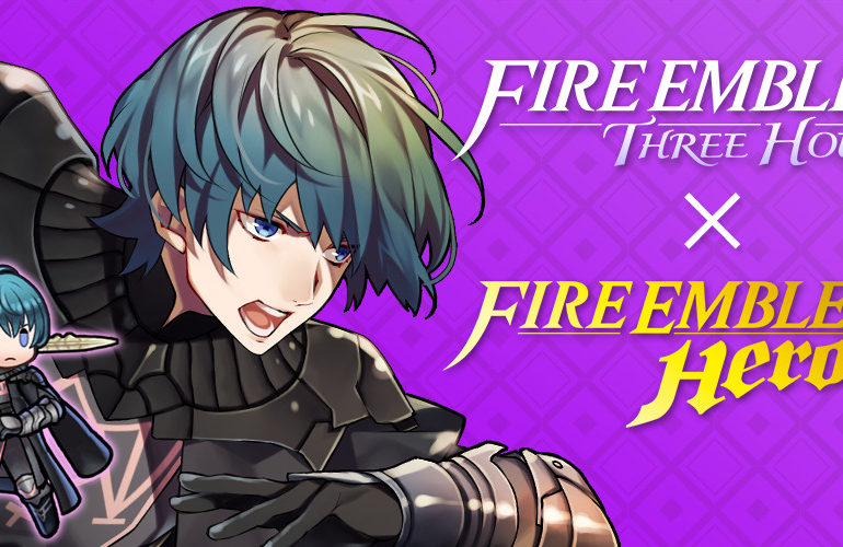 Fire Emblem Three Houses x Fire Emblem Heroes promo