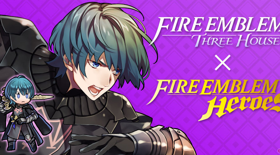 Fire Emblem Three Houses x Fire Emblem Heroes promo