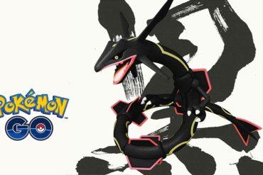 Pokémon GO Rayquaza Shiny