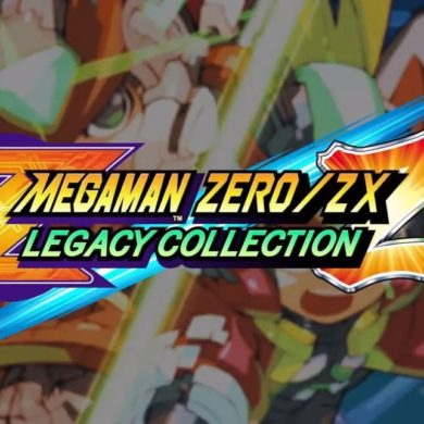 Tsuchiya Mega Man Zero/ZX Legacy Collection