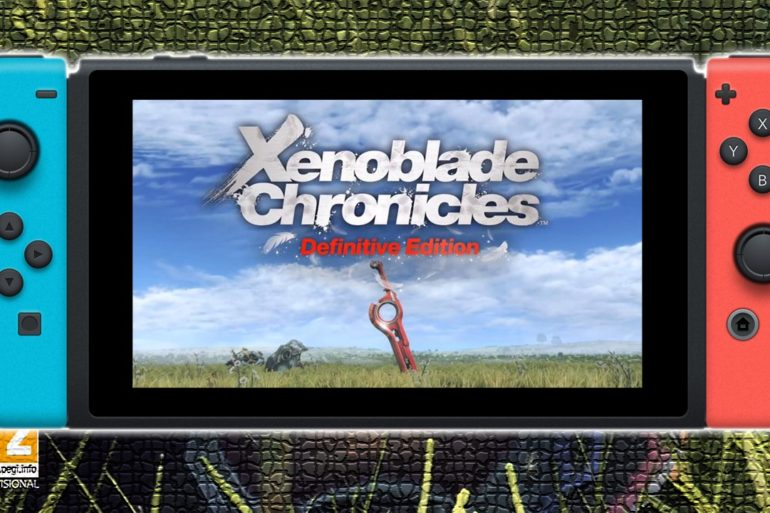 Xenoblade Chronicles Definitive Edition Anunciado Nintendo Switch