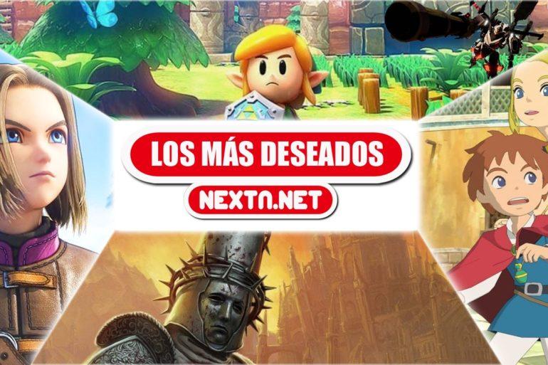 Los más deseados de NextN Septiembre 2019 Nintendo Switch Dragon Quest XI S Ni no Kuni Link Awakening Blasphemous
