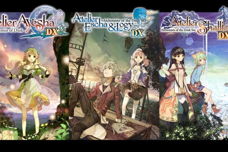 Atelier Dusk Trilogy Deluxe Fecha de Lanzamiento en Occidente Europa 14 de enero Nintendo Switch
