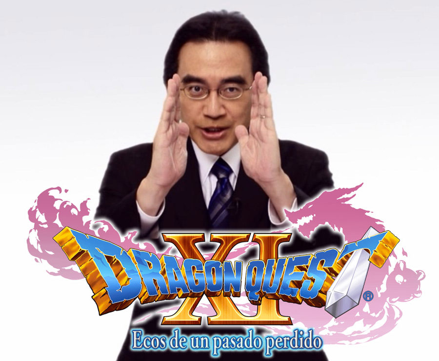 Dragon Quest XI S Satoru Iwata
