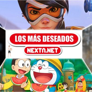Los más deseados de NextN Octubre 2019 The Witcher 3 Luigi's Mansion Overwatch Doraemon Nintendo Switch