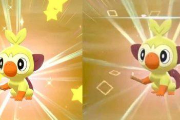 Pokémon Variocolor shiny estrellas cuadrados