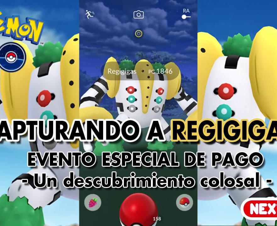Pokémoon GO un descubrimiento colosal Regigigas