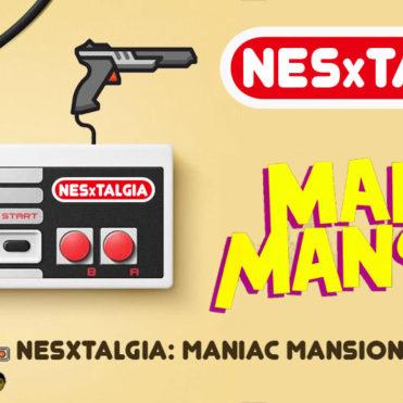 NESxtalgia Maniac Mansion