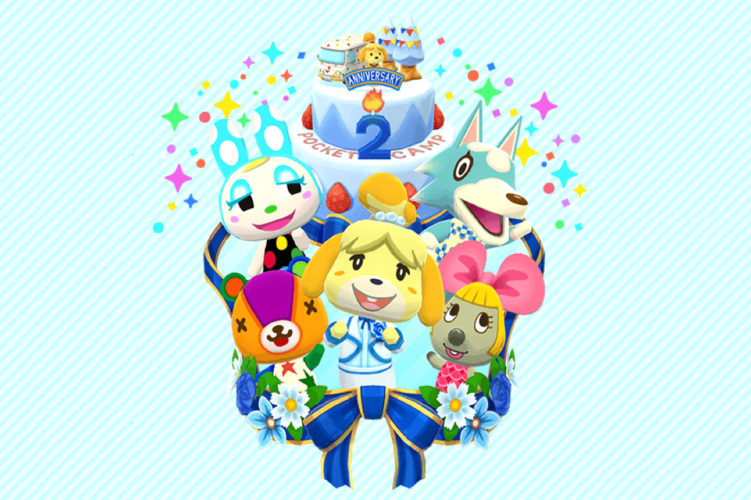 Animal Crossing Pocket Camp aniversario