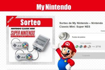 My Nintendo Classic Mini Super NES Sorteo Puntos Platino