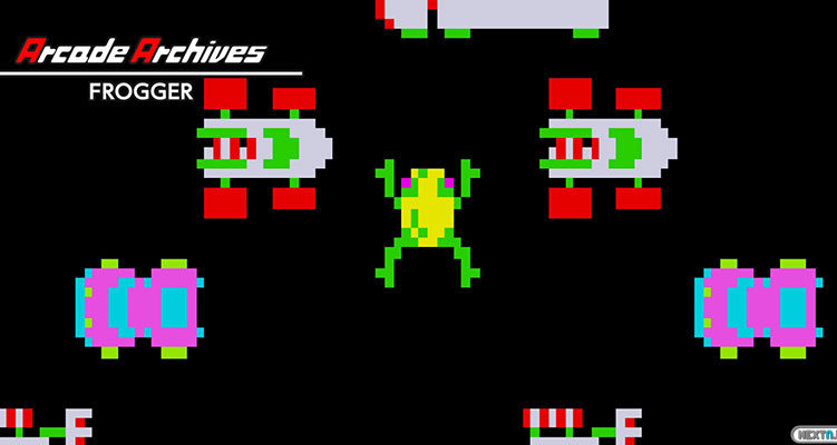 Arcade Archives frogger Switch