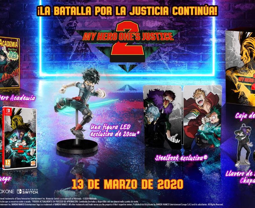 My Hero One's Justice 2 Edición Especial coleccionista