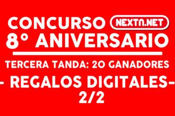 CONCURSO #8AniversarioNextN ganadores digitales 2-2