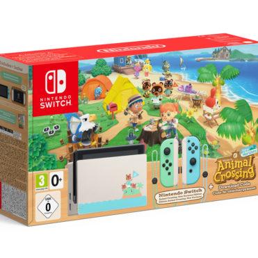 Animal Crossing New Horizons pack Nintendo Switch