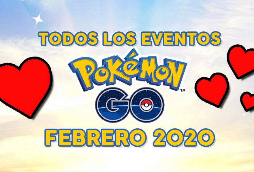 Pokémon GO eventos febrero San Valentín