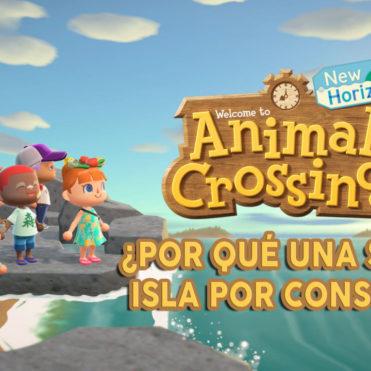 Animal Crossing New Horizons una isla por consola