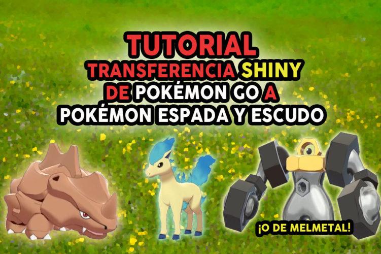 Tutorial Pokémon GO shiny a Pokémon Espada y Escudo