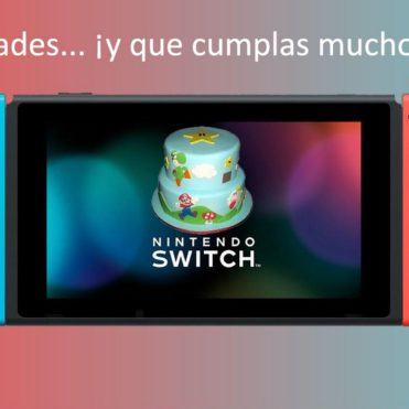 Nintendo Switch Cumpleaños
