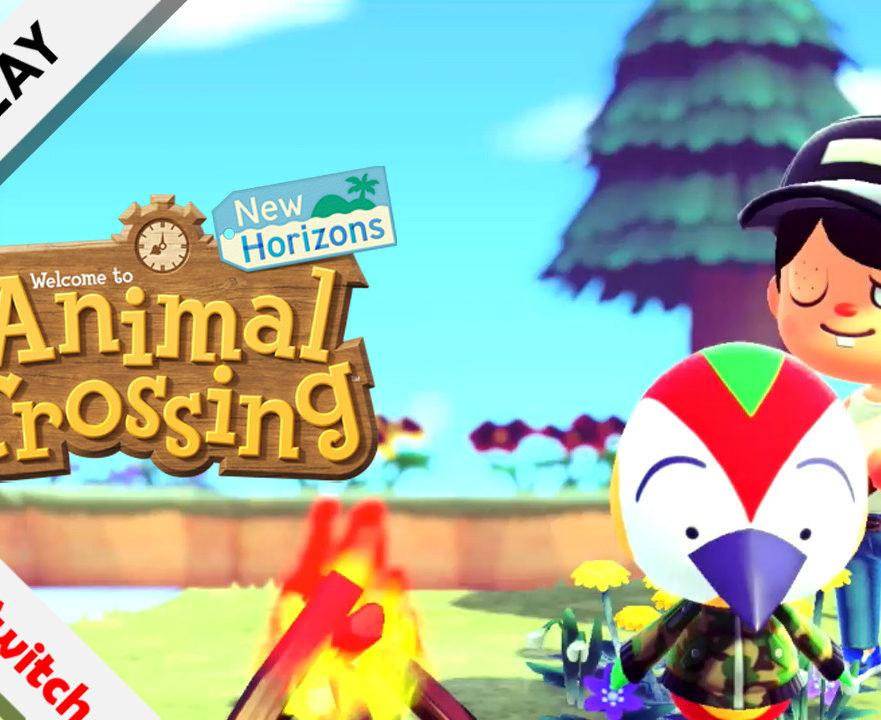 gameplay Animal Crossing New Horizons