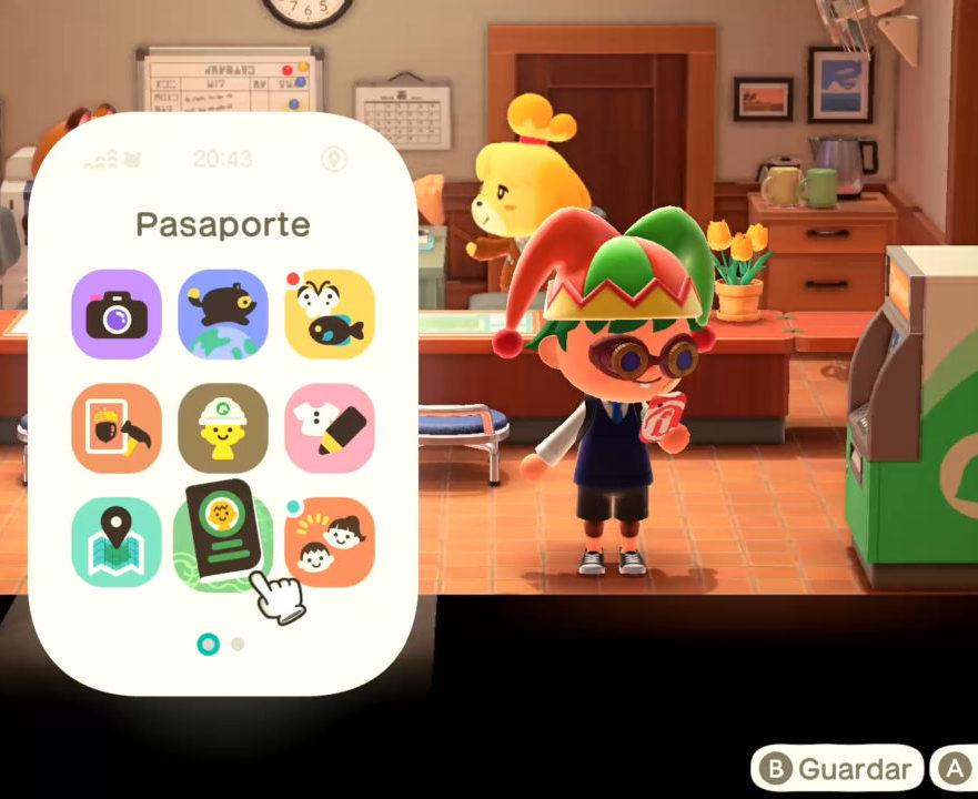 Guía Animal Crossing New Horizons carcasa Nookófono