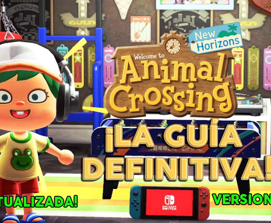 Guía Animal Crossing New Horizons 2.0 actualización actualizada