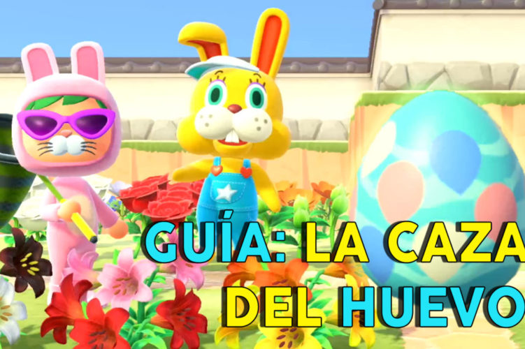 Animal Crossing: New Horizons evento caza del huevo