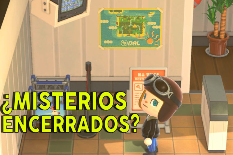 Misterios encerrados Animal Crossing New Horizons