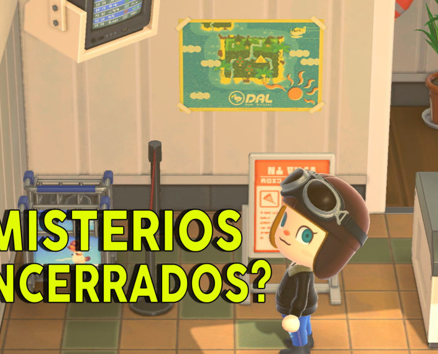 Misterios encerrados Animal Crossing New Horizons