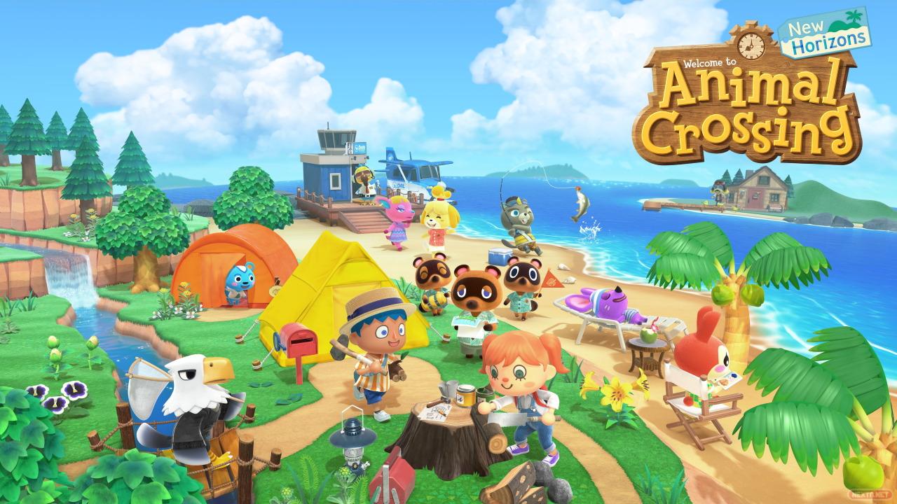 Oeuvre Animal Crossing New Horizons