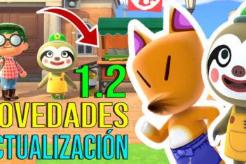 Novedades Actualización 1.2 Animal Crossing New Horizons