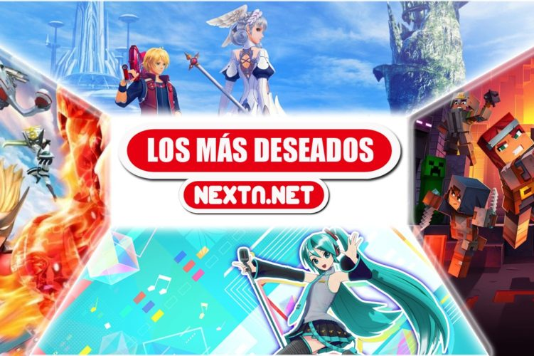 Los más deseados de NextN Mayo 2020 Xenoblade Chronicles Hatsune Miku Minecraft Dungeons The Wonderful 101