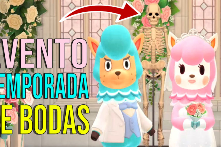 Evento Temporada de Bodas Animal Crossing New Horizons