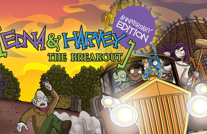 Edna Harvey The Breakout Anniversary Edition Switch